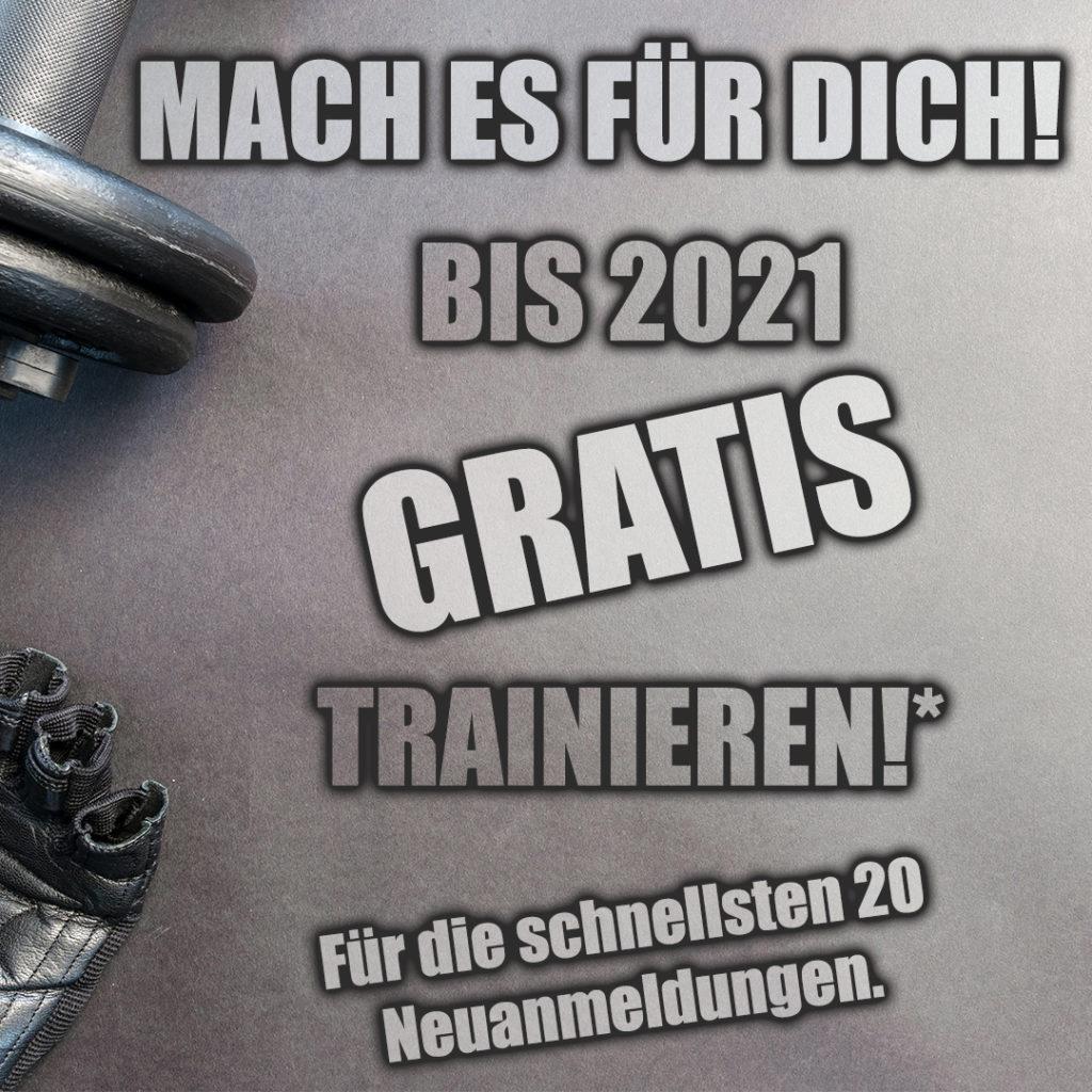 BIS 2021 GRATIS TRAINIEREN